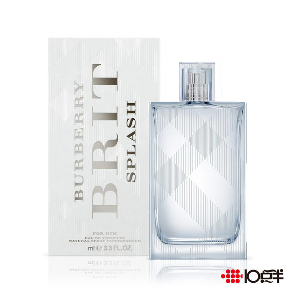 BURBERRY BRIT SPLASH 海洋風格 男性淡香水 100ml *10點半美妝館*