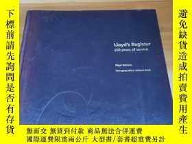 二手書博民逛書店Lloyd s罕見Register 250 years of s