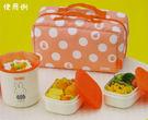 日本THERMOS膳魔師米飛兔保溫便當盒便當袋保溫DBQ-251代購通販屋