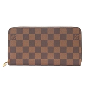 LOUIS VUITTON LV 路易威登 棋盤格ㄇ字拉鍊長夾 Zippy Wallet N41661【BRAND OFF】