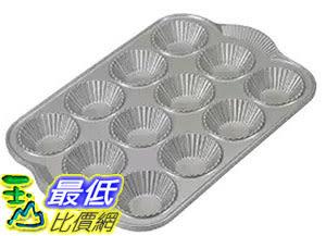 [105美國直購] Nordic Ware 41437 杯子蛋糕模具 烤盤 Platinum Nonstick Cast Aluminum Tartlette Pan