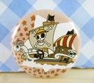 【震撼精品百貨】One Piece_海賊王~胸章-船圖案
