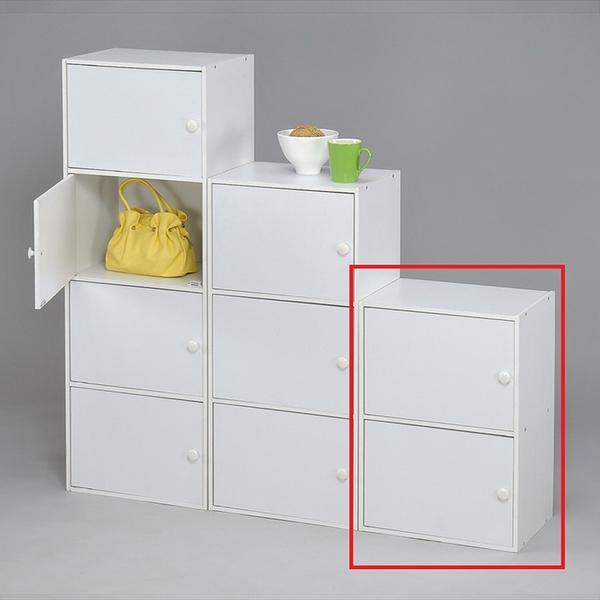 品味玩家 二層門櫃/收納櫃/書架/置物櫃/高低櫃/展示櫃