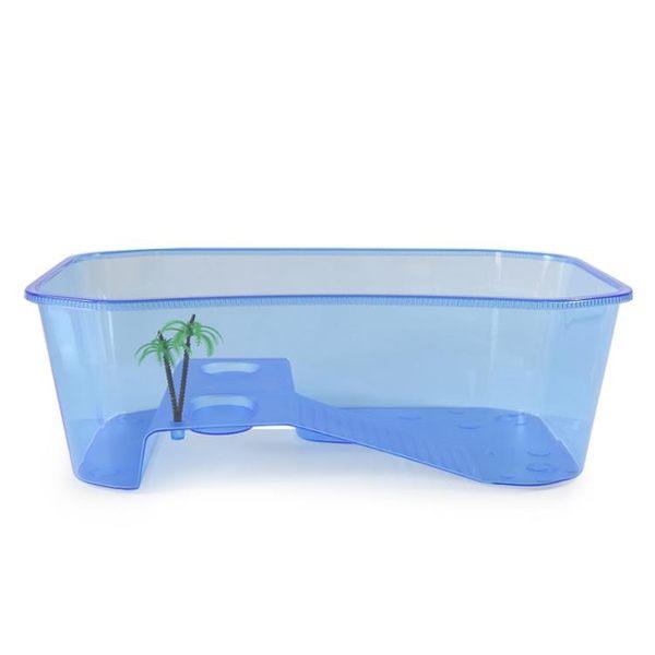 帶曬台烏龜缸水陸缸魚缸大號大型塑料巴西龜水龜草龜鱷龜甲魚龜盆 igo 可然精品鞋櫃