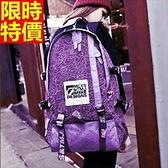 後背包-帆布日韓時尚休閒旅行男女雙肩包-10色67g31【巴黎精品】