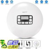 [8美國直購] HOTT Portable CD Player Personal Small Walkman CD Disc Player, with Electronic Anti-Skip Anti-Shock
