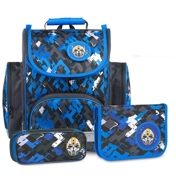 兒童書包 Tiger Family 英倫系列 輕量 多色 安全反光 兒童書包 護脊書包 TFSR18 送文具組/筆袋