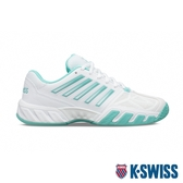 K-SWISS Bigshot Light 3輕量進階網球鞋-女-白/綠