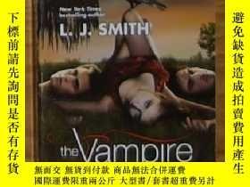 二手書博民逛書店英文原版罕見Vampire Diaries: The Awake