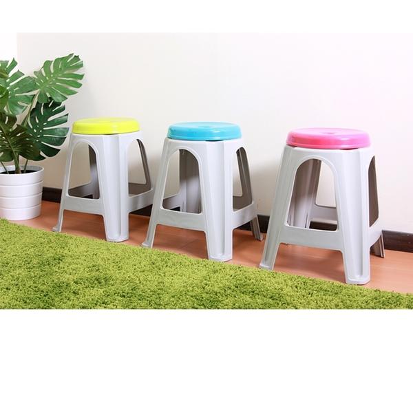 HOUSE【801007】CH50特厚A字椅4入  (隨機色) 傢俱/折疊椅/塑膠椅/板凳