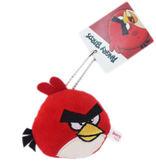 【卡漫城】 憤怒鳥 吊飾 紅鳥 ㊣版 Angry Birds 珠鍊 絨毛 裝飾品 鑰匙圈 掛飾
