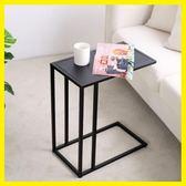 北歐簡約迷你小邊桌客廳沙發邊幾角幾電腦桌創意茶幾小戶型床頭桌   初見居家