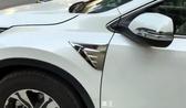 【車王汽車精品百貨】本田 HODNA CRV5 CR-V C-RV 5代 風口改裝 葉子板裝飾貼 鯊魚鰭風口 個性化改裝