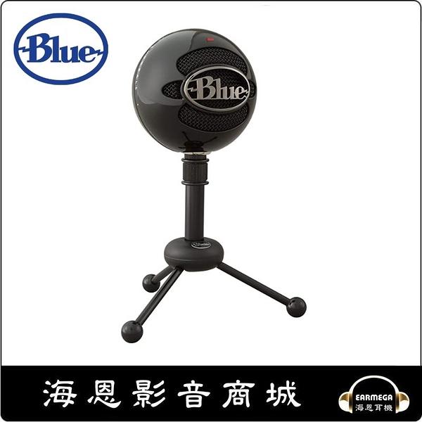 【海恩數位】美國 Blue Snowball 雪球 USB 麥克風 黑色 沒有任何比這更輕鬆的設備
