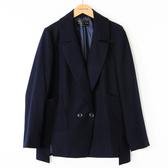 【MASTINA】雙排扣外套-藍 好康優惠