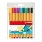 STABILO 樂點88多用途細緻彩繪筆 15色塑料袋