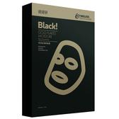 提提研保濕金箔黑面膜5入盒【康是美】