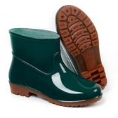 雨鞋水鞋男廚房防滑雨靴女防水短筒耐磨勞工鞋膠鞋【雲木雜貨】