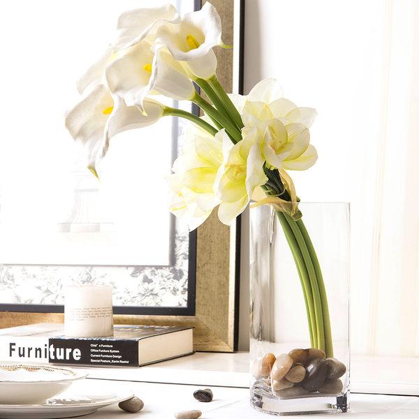 模擬花假花 套裝 花藝 客廳餐桌 裝飾花 花瓶花束 -bri01078