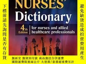 二手書博民逛書店Mcgraw-hill罕見Nurse s Dictionary Fourth EditionY307751 U