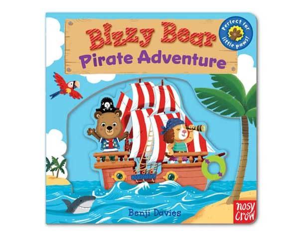 Bizzy Bear:Pirate Adventure 海盜冒險熊熊新奇操作書(美國版)