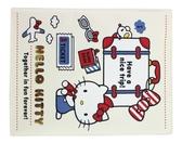 【卡漫城】 Hello Kitty 護照套 白 行李箱 ㊣版 日版 防水 證件套 旅行 凱蒂貓 卡片套 收納本