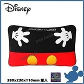 【愛車族】DISNEY 米奇腰靠墊 抱枕 WDC164紅黑 | WDC166黑色 迪士尼系列