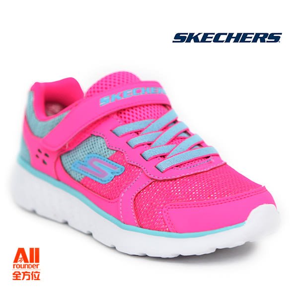 【Skechers思克威爾】】童款休閒鞋 GO RUN 400-粉紅色 (81358LNPAQ)全方位運動戶外館