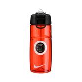 Nike Water Bottle [NOB13602OS] 運動 路跑 單車 訓練 水壺 紅 小 16OZ 附吸管