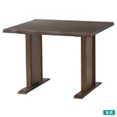 ◎實木餐桌 SAZANAMI 90 柚木色 橡膠木 TW NITORI宜得利家居