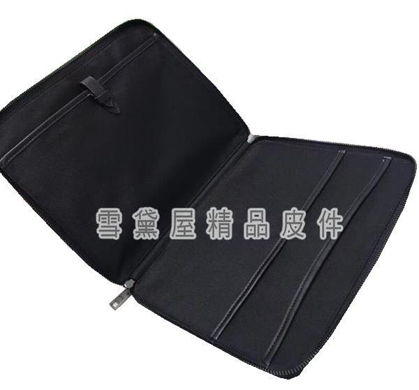 ~雪黛屋~COACH 手拿文件包小容量薄型可A4紙國際正版保證防水防刮皮革品證購證塵套提袋C645621