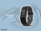 【時間道】GARMIN vivosport -預購-GPS智慧健康心率手環-躍動黑S-M(010-01789-B0)免運費