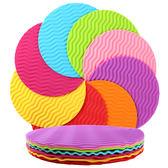 萬聖節大促銷 6個裝 創意硅膠墊隔熱墊餐桌墊杯墊碗墊防滑墊盤墊砂鍋墊茶壺墊
