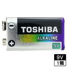 東芝 鹼性電池9V 1入【愛買】