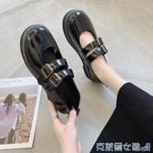 娃娃鞋 英倫風小皮鞋女2020春夏新款百搭網紅森女復古日系軟妹瑪麗珍jk鞋 快速出貨