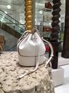 ■專櫃77折■ 全新真品■Loewe 小款 Nappa 小牛皮氣球包 白色