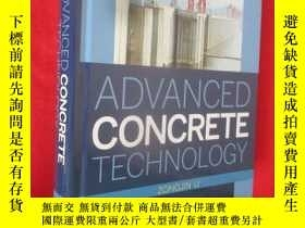 二手書博民逛書店Advanced罕見Concrete Technology (1