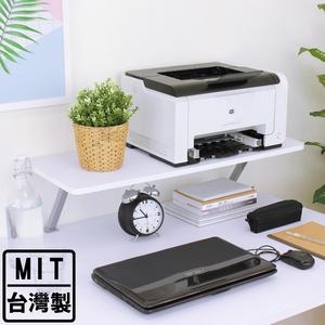 【頂堅】寬80公分(Z型)桌上型置物架/螢幕架(三色可選)素雅白色