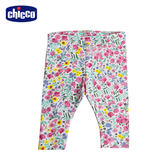 chicco-To Be Baby-內搭長褲-粉花朵