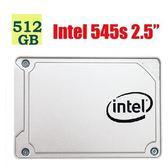 """Intel SSD 512GB 545s【SSDSC2KW512G8X1】3D NAND SATA 2.5"""" 固態硬碟"""