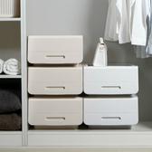 收納箱-北歐純色可疊加大容量翻蓋整理箱 收納箱 衣櫃 玩具箱 收納櫃【AN SHOP】