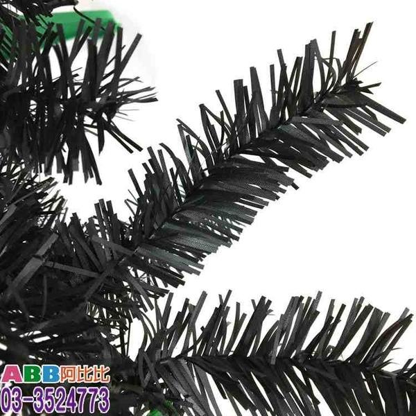 B1772_4尺_聖誕樹_黑_塑膠腳架#聖誕派對佈置氣球窗貼壁貼彩條拉旗掛飾吊飾