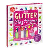 [KLUTZ] Make Glitter Clay Charms 閃亮陶土潘朵啦啦啦(捏塑創意/陶土手藝/配飾設計)