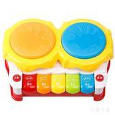 寶寶益智早教手拍鼓 音樂玩具 BQ13『毛菇小象』TW