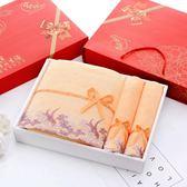 雙十二年終盛宴毛巾浴巾禮盒三件套/套裝成人結婚生日回禮團購禮品   初見居家