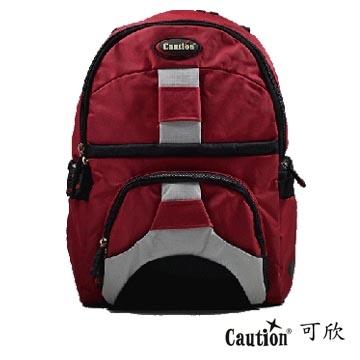 運動 背包 Caution 可欣 625 熱情紅 單肩背(福利品)