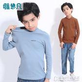 兒童裝男童T恤秋季長袖打底衫中大童純棉上衣潮寶 街頭布衣