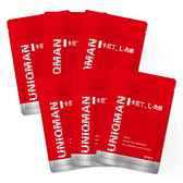 UNIQMAN 卡尼丁_L-肉鹼 素食膠囊 (30粒/袋)6袋組