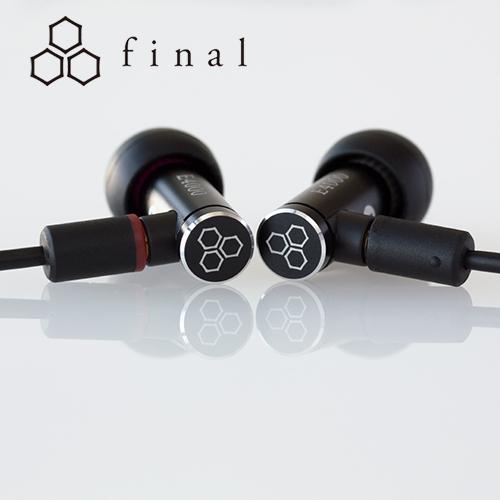 Final E4000 MMCX 可換線設計 耳道式耳機