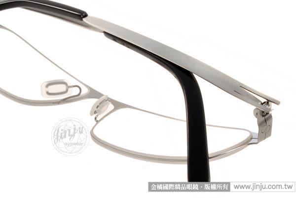 ByWP 光學眼鏡 BY11035 BS (銀) 德國薄鋼平光鏡框 # 金橘眼鏡